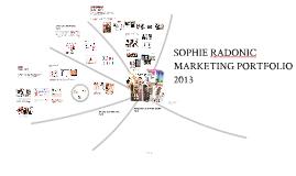 Sophie Radonic Marketing Portfolio
