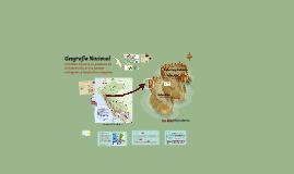 Geografía Nacional