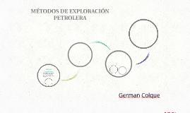 MÉTODOS DE EXPLORACIÓN PETROLERA