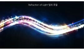 Wave-02.Refraction Of Light