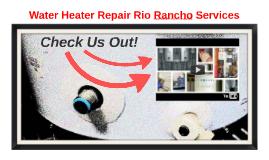 Water Heater Repair Rio Rancho