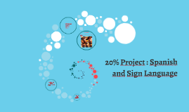 20% Project : Spanish and Sign Language