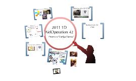 2011 1D AidOperation 42 Proyecto ''Cuelga Tareas''.