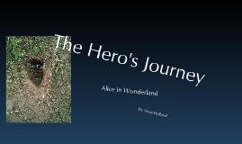 Copy of The Hero's Journey - Alice in Wonderland