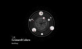 Copy of Leonard Cohen