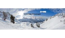 Le tourisme de montagne