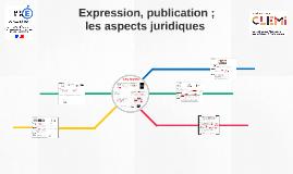 Expression, publication et droits