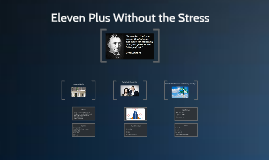 Eleven Plus Without the Stress
