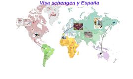 Visa schengen y España