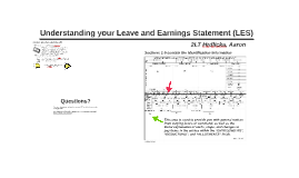 Understanding your Leave and Earnings Statment (LES)