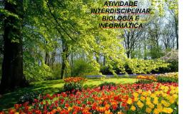 ATIVIDADE INTERDISCIPLINAR – BIOLOGIA E INFORMÁTICA