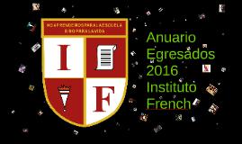 Anuario Egresados French 2016