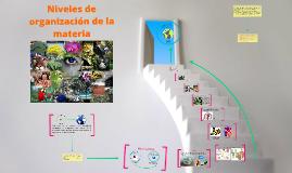 2.2 Niveles de organización de la materia