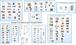Design Fundamentals Assignments