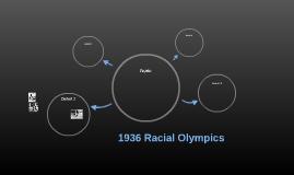 1936 Racial Olympics