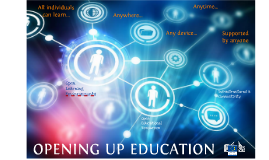 Copy of OPENING UP EDUCATION