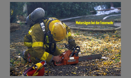 Motorsägen bei der Feuerwehr