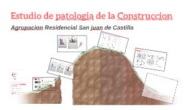 Estudio de patologia de la Construccion