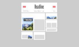 Copy of Newspaper Headline V2 (template)