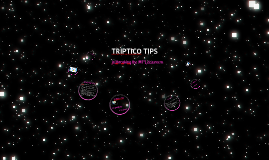 TRIPTICO TIPS