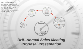 DHL-Annual Sales Meeting