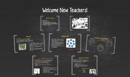 Welcome New Teachers!
