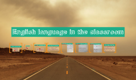 English language in the classroom