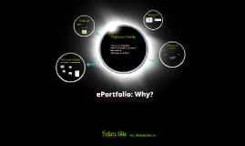 ePortfolio: Why?  EPHE 445