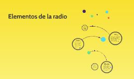 Elementos de la radio