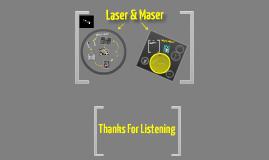 Copy of Lasers & Maser