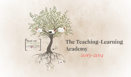 Copy of The Teaching-Learning Academy