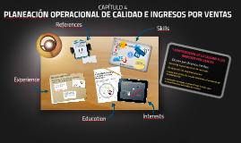 Copy of PLANEACIÓN OPERACIONAL DE CALIDAD E INGRESOS POR VENTAS