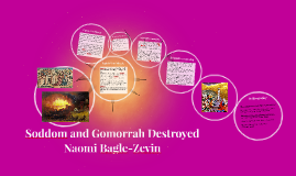 Soddom and Gomorrah Destroyed
