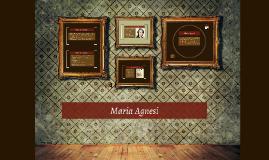 Copy of Maria Agnesi