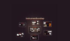 Instrumentkunskap