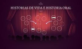 Copy of HISTORIA DE VIDA E HISTORIA ORAL