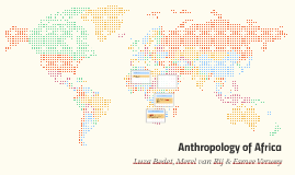 Anthropology of Africa