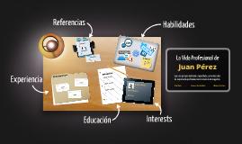Prezumé Template - Desktop Version de Rocio Medina de Natalia Teliz