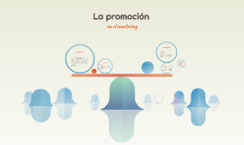 Promoción en el marketing