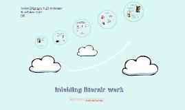 Inleiding literair werk
