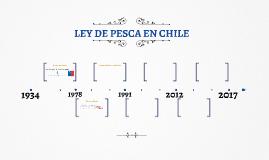 Ley de Pesca en Chile