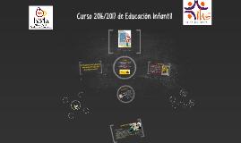 Curso 2016/2017 de Educación Infantil