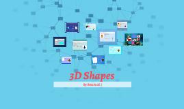 Copy of 3D shapes