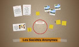 Les Sociétés Anonymes