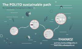 sustainable path