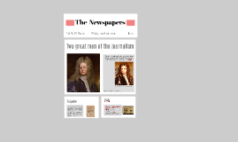 The Newspapers: 'The Spectator' and 'Il Caffè'