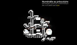 Atelier-jeu de numératie au préscolaire