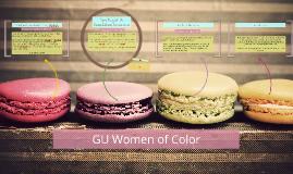 GU Women of Color
