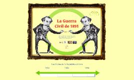 La Guerra Civil de 1891