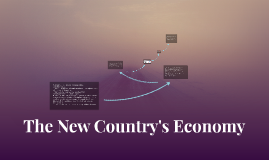 The New Country's Economy
